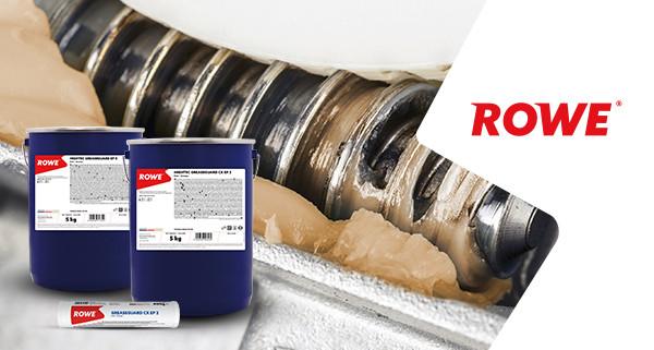 Розширення асортименту продукції ROWE в області консистентних мастил