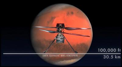 Вивчення Марса вертолітним дроном